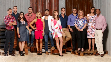 Contestants on the 2016 season of Channel Seven's renovation show, <i>House Rules</i>.