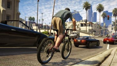 A screenshot from GTA V ... Target's General Manager of Corporate Affairs, Jim Cooper, says the game has been taken off the shelves because of the 'significant level of concern about the game's content' in the community.