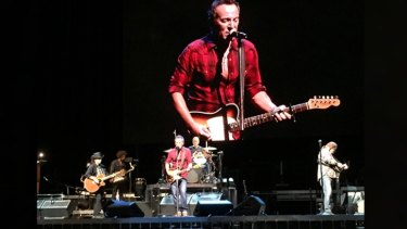 The Boss kicked off his Australia and New Zealand tour with a politically-charged setlist.