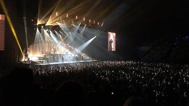 Sam Smith at Perth Arena.
