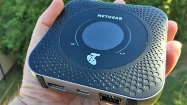 Telstra's Nighthawk M1 router can't deliver on its speed promises if you're out in the 'burbs.