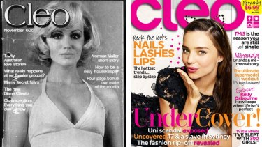 Over the years: <em>Cleo</em> magazine.