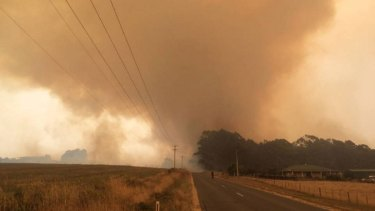Fires in Tasmania's north-west have been burning for a fortnight.