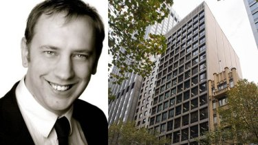 IP-Echelon founder Adrian Leatherland and his firm's headquarters in Melbourne.