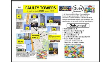 Residents have mounted a vocal campaign against the towers.