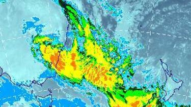 Record rainfall: The east coast low that battered Sydney.