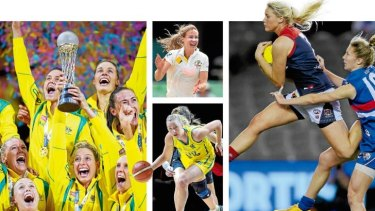 The profiles of the country's netballers, footballers, cricketers and basketballers soared over the past weekend.