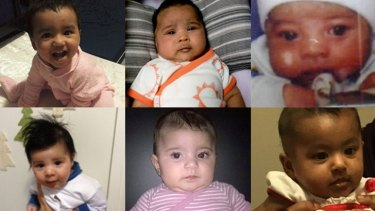 Some of the babies facing deportation.
