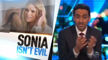 Waleed Aly wades into the debate over Sonia Kruger's controversial comments.