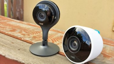 The Nest Cam Indoor and Outdoor give you eyes and ears at home while you're out and about.