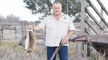 Sporting Shooter Association of Australia WA president, Ron Bryant.