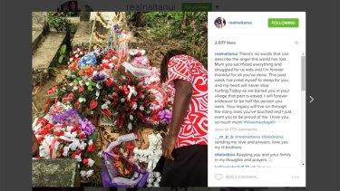 West Coast Eagle Nic Naitanui makes emotional Instagram