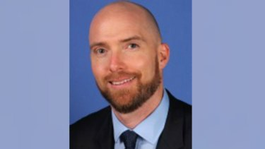 Dr Pritzwald-Stegmann, a father of two, is fighting for his life after being punched in the head at Box Hill Hospital.