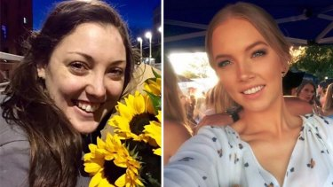 Kirsty Boden (left) and Sara Zelenak were stabbed to death near the Borough Market.
