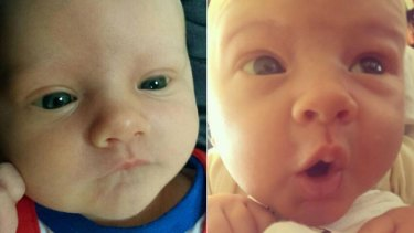 Baby Riley Hughes, four weeks, died from whooping cough at Princess Margaret Hospital.