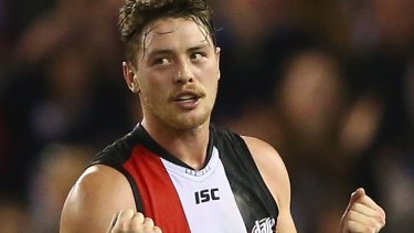 Jack Steven is on track to becoming a St KIlda great with two Trevor Barker medals to his name.