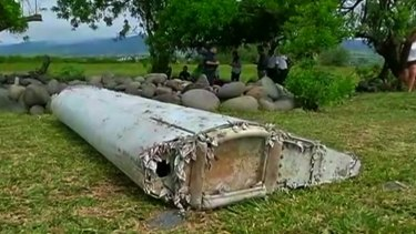 The debris that washed up on Reunion Island was a flaperon from one of MH370's wings.