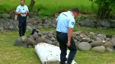 Possible MH370 debris has washed up on the shore of Reunion, a French island in the Indian Ocean.