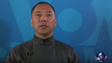 "Guo Wengui, aka Miles Kwok: ""The vast majority are in Australia. That's our battlefield."""