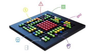 Bloxels lets you design game levels and then bring them to life on your tablet.