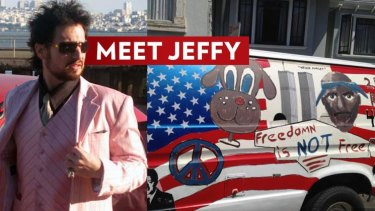 Banned: 'Pick up artist' Jeff Allen.