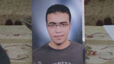 Abdullah Reda al-Hamamy, the man named as the Louvre suspect.