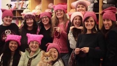 ad35c18dc How these pink hats became the worldwide symbol of the anti-Trump ...