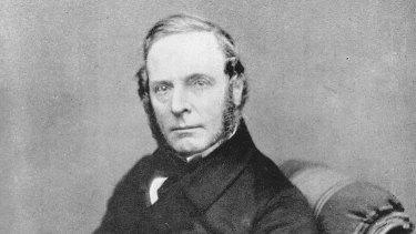 ''Plant hunter'' Robert Fortune, circa 1854.
