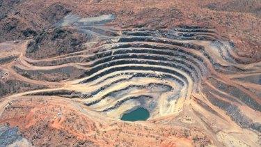 Mary Kathleen uranium mine.