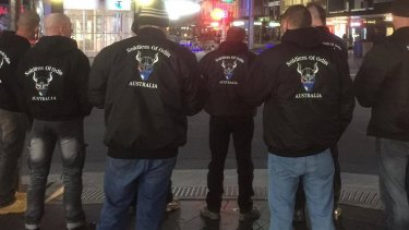 The Soldiers of Odin on patrol.