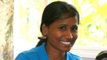 Sri Lankan refugee Ranjini has been released from detention