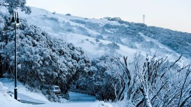 Mount Buller in Victoria received a good dump of snow over the weekend.