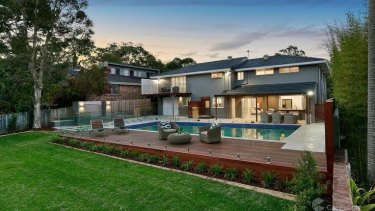 The $2.3 million Wahroonga home owned by Dev Menon and his fiancee is one of several properties seized following last week's arrests.
