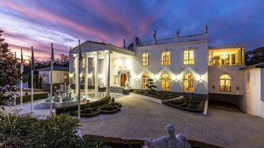 The Tamborine Mountain home Alicia Atkinson is tipped to have bought.