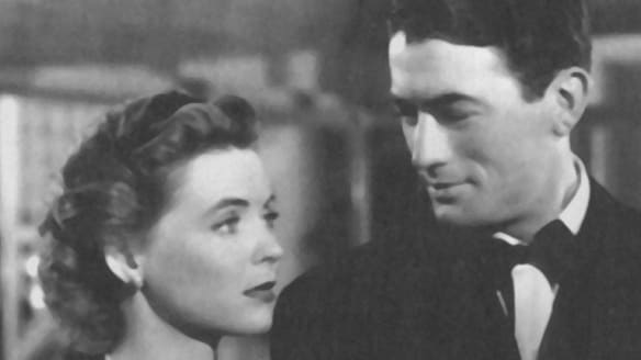A still from the movie Gentleman's Agreement, with (from left) Dorothy McGuire, Gregory Peck and Albert Dekker.