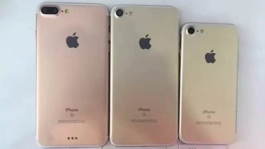 These images appeared online in July, purporting to show three versions of the upcoming iPhone.