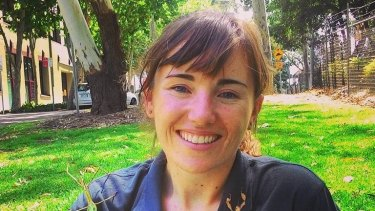 Insect researcher Eliza Middleton of Sydney University.