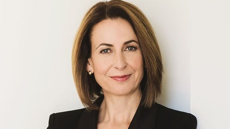 ABC TV News presenter Virginia Haussegger is a strong advocate for gender equity.