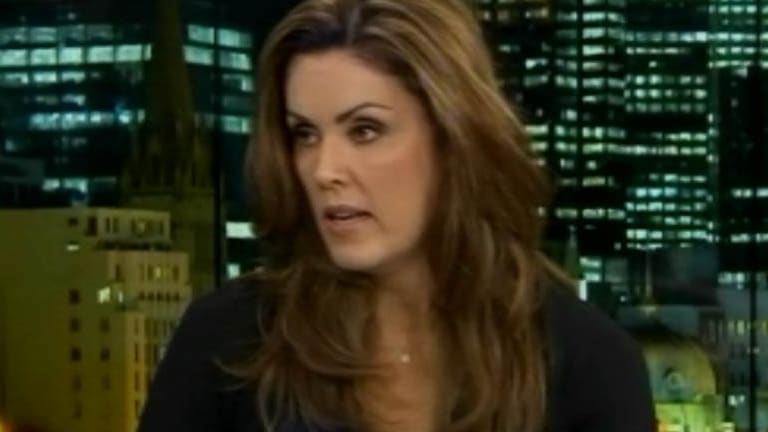"""Peta Credlin dropped the """"bedwetters"""" term on the Andrew Bolt report on Monday night."""