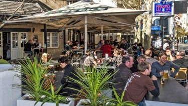 The pub has been an after-work favourite for many CBD workers for nearly 30 years.