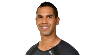 In hot water: Fremantle recruit Shane Yarran.
