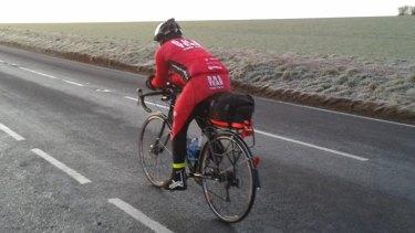 Steve Abraham has faced frigid conditions in Britain.
