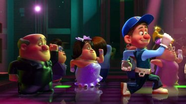 The delightful Wreck it Ralph is set in the world of vintage arcade games.