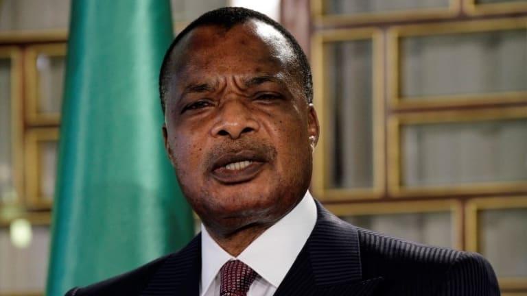 President Denis Sassou Nguesso.