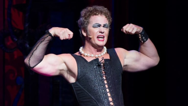 Crew members have recalled incidents that occurred during the 2014 tour of The Rocky Horror Show.