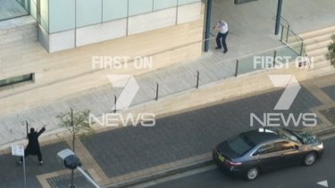 Farhad Jabar, the 15-year-old brother of  Shadi Jabar, in a shootout with police at NSW Police headquarters in Parramatta.