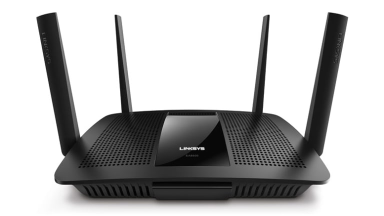 Linksys' MU-MIMO wireless router adds a fast lane to your home Wi-Fi network to reduce traffic congestion.