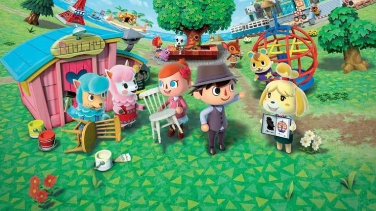 Games: <i>Animal Crossing</i>.