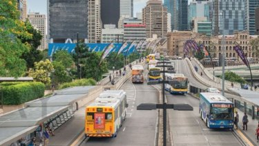 The report identifies possible efficiency gains from 'franchising' public transport services.