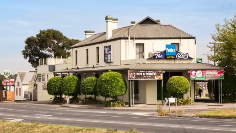 The Club Hotel in Ferntree Gully.